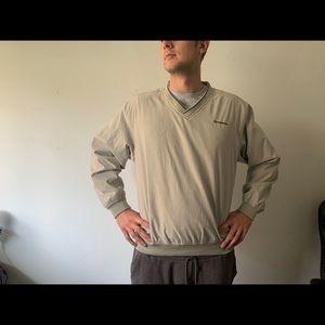 Devon & Jones Golf V-Neck Sweater in Large